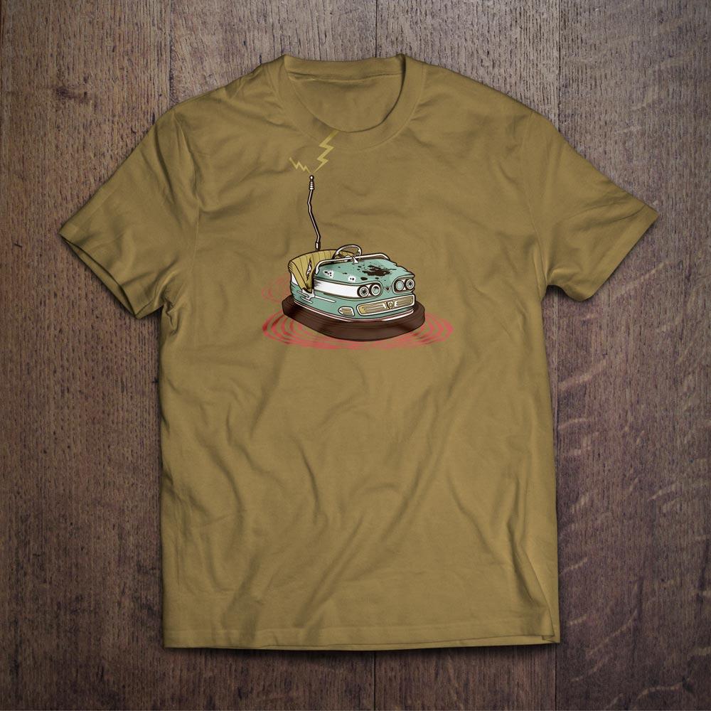 Grand Theft Autoscooter T-Shirt Design - Björn Siems